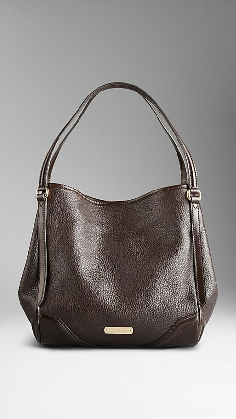 8663e1934abbb Small London Leather Tote Bag