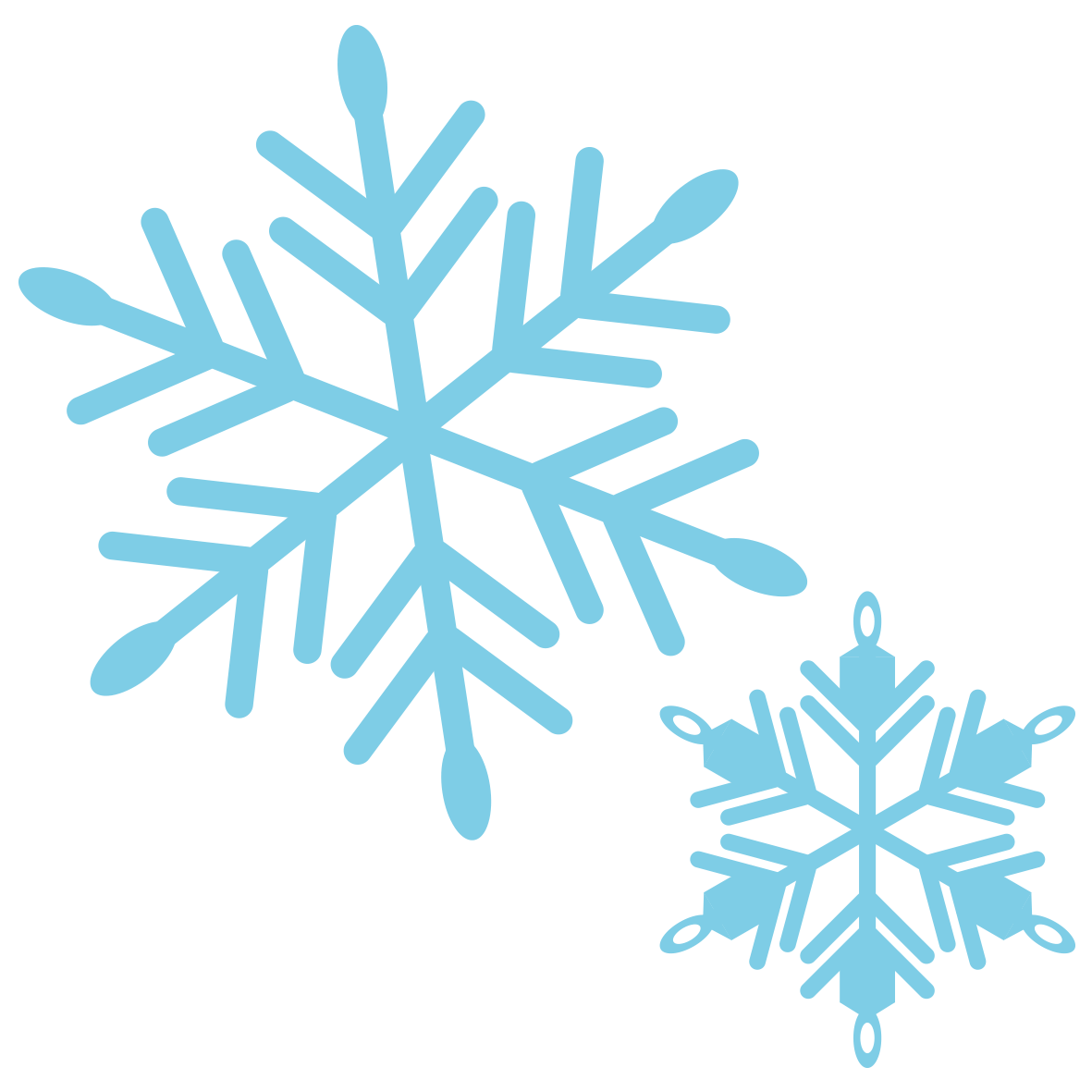 雪の結晶イラスト