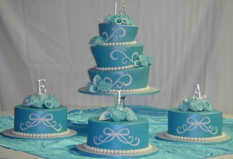 Sweet 15 Birthday Cakes Sweet 15 Quineancera Birthday Cake and