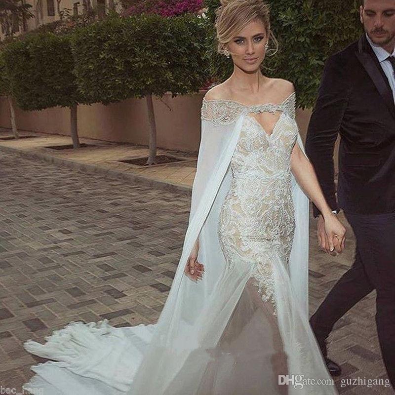 049ae071c4 2018 Elegant 2016 Bridal Wraps Wedding Coat Sheer Lace Long Cape With Beads Bridal  Wedding Coat Bride Jacket Cloak From Felicity fashion