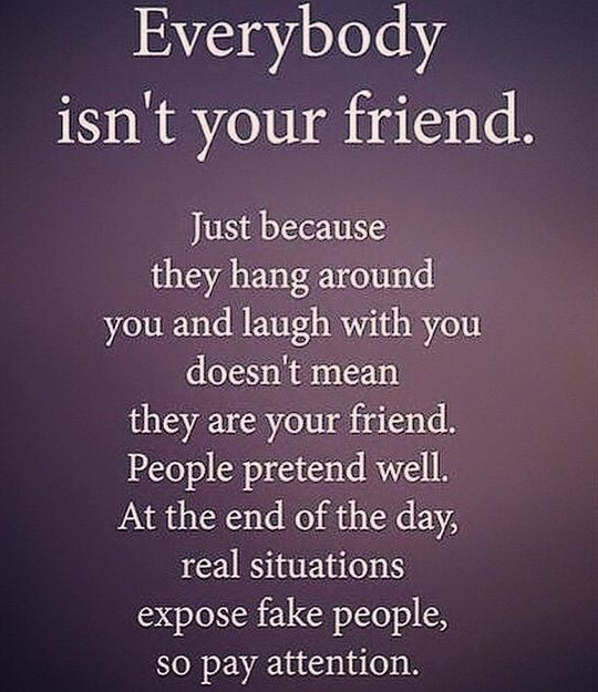 Some are fake, so pay attention... | False friends quotes ...