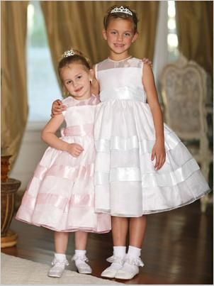 22cfd9021b6 Tip Top Flower Girl Dress 5410 - French Novelty