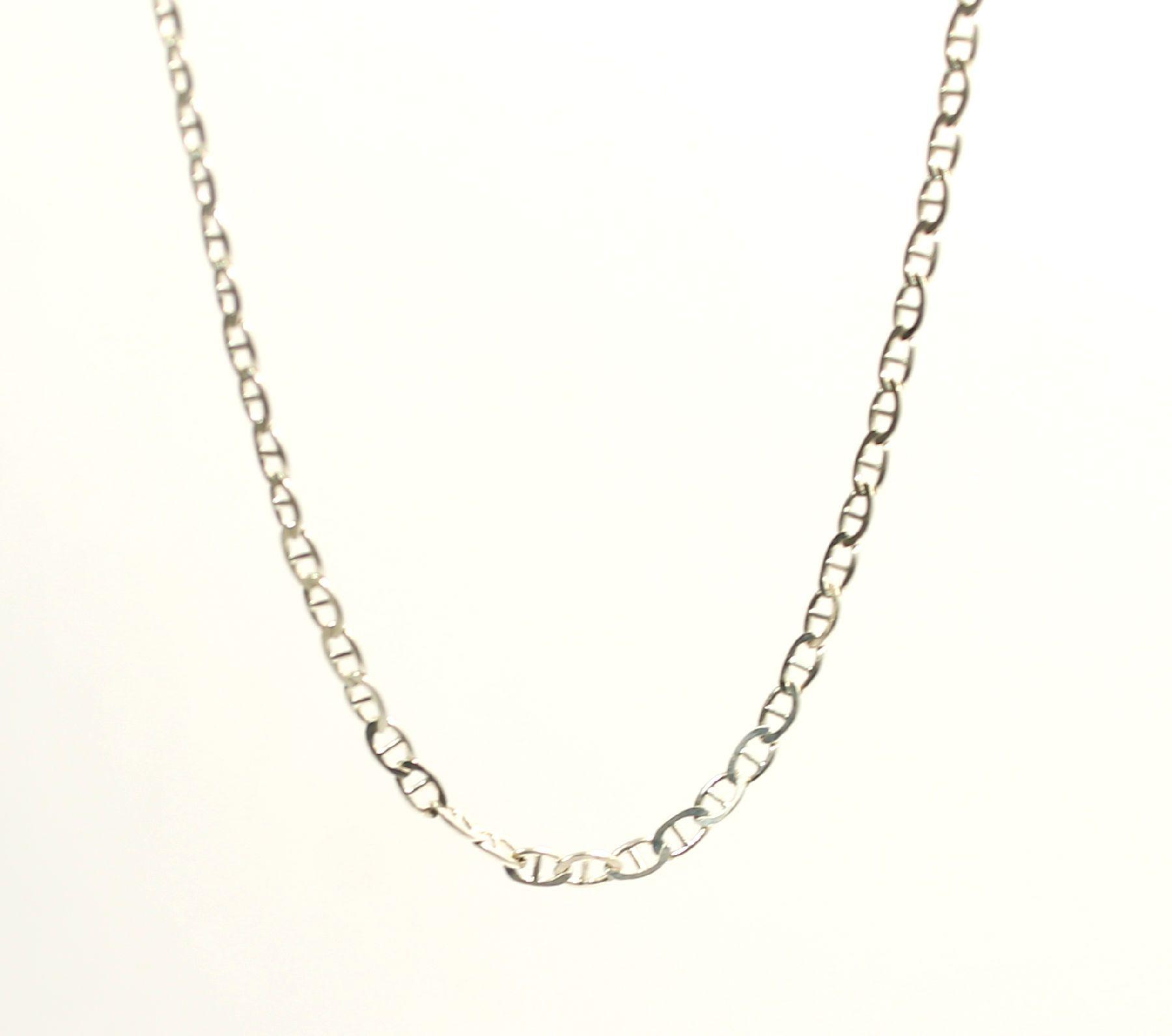 "Giani Bernini sterling silver twisted rope 17/"" chain"