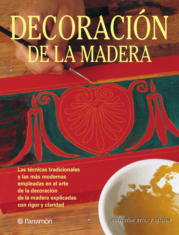Artes y oficios decorac n de la madera pintura dorada - Pintura dorada para madera ...