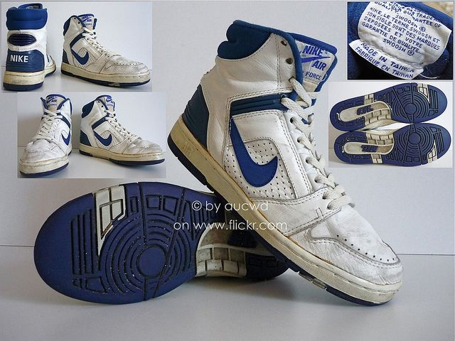 70`S 80`S VINTAGE NIKE AIR DELTA FORCE BB HI SHOES HI