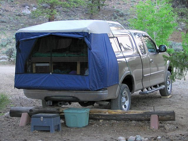 Tailgate Tent Truck Camping Setups Suv Tent Truck