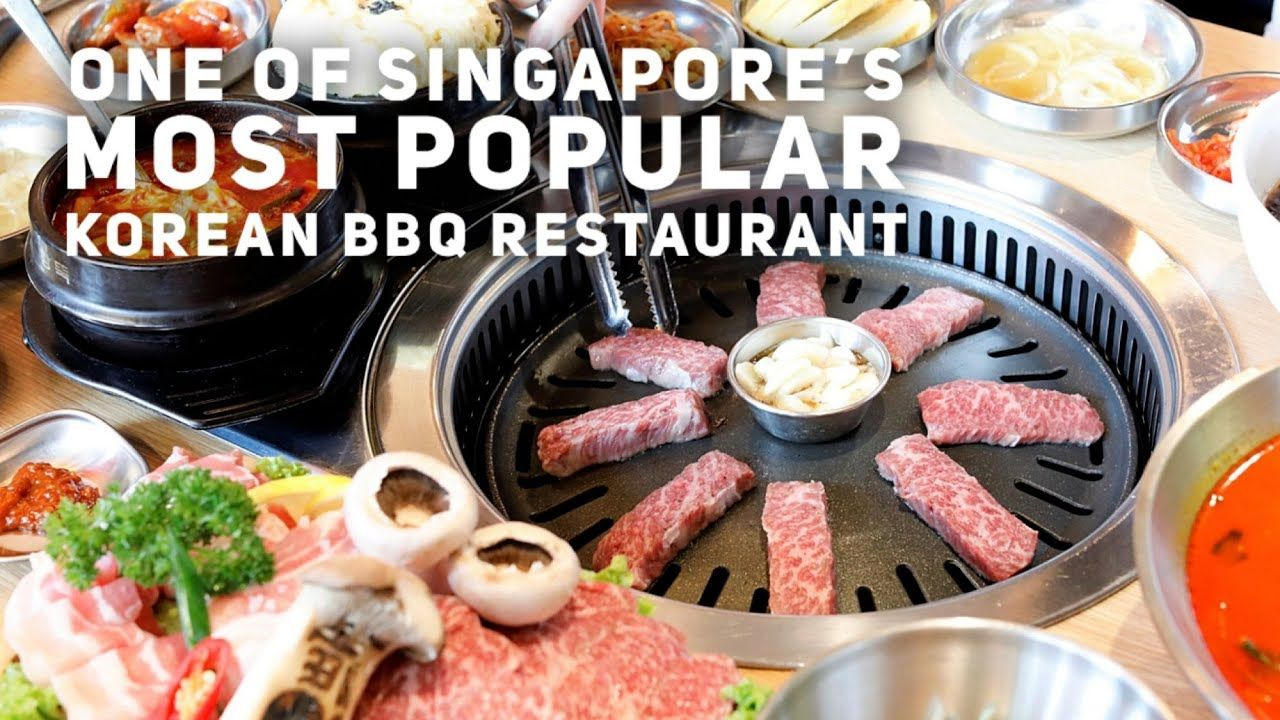 O Bba Bbq Jjajang One Of Singapore S Most Popular Korean Bbq Restaurants Youtube In 2021 Korean Bbq Restaurant Bbq Restaurant Korean Bbq