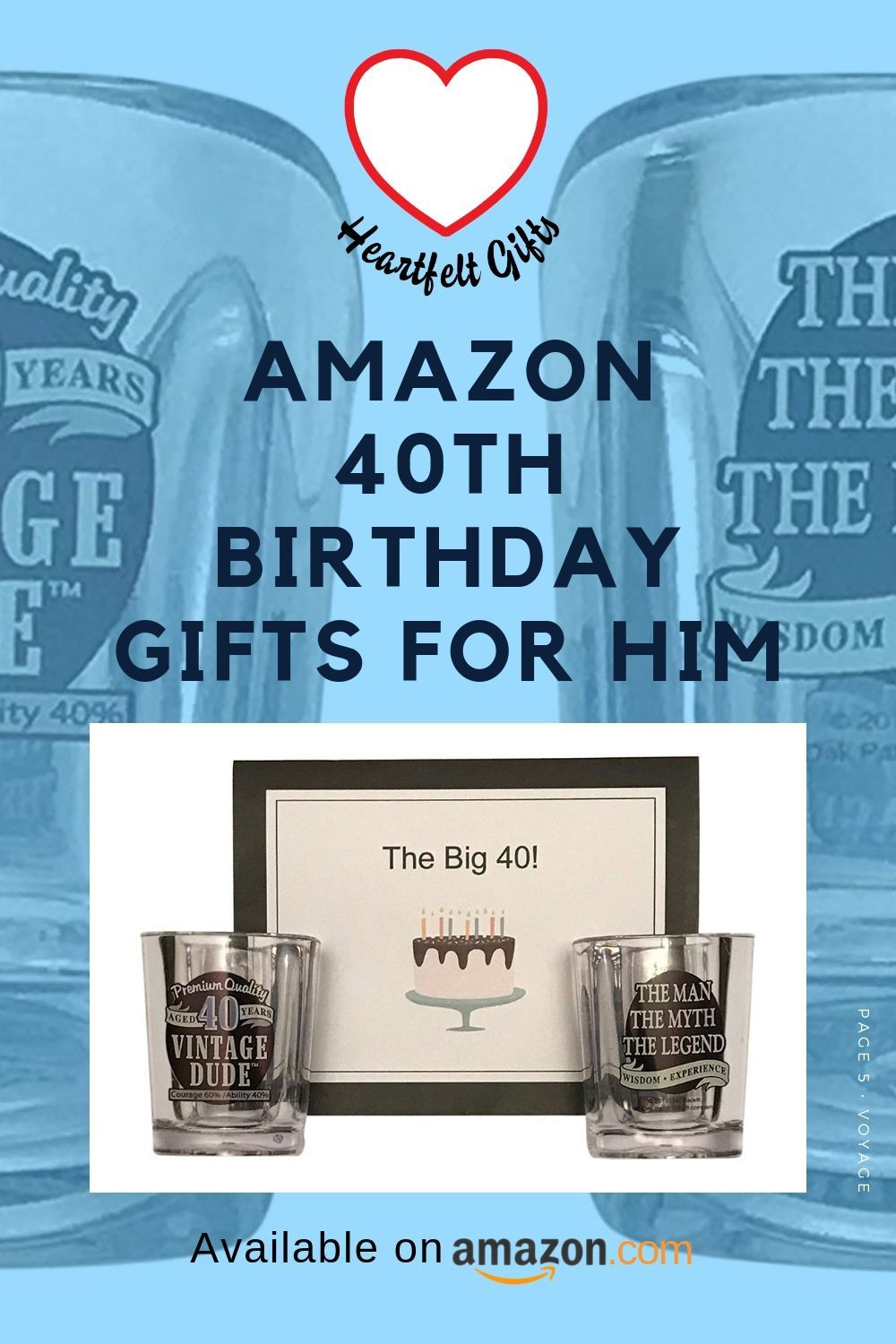 Amazon's 40th birthday gifts for him! The best birthday