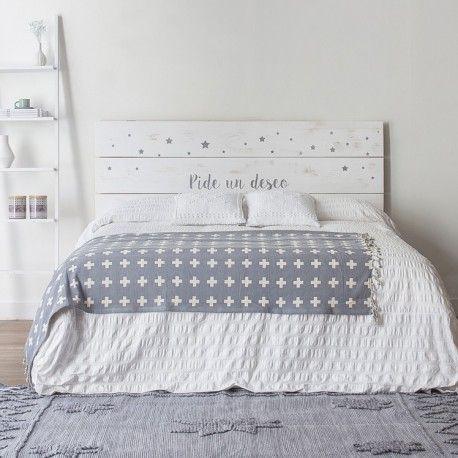 Pide un deseo cabecero decoracion decoraci n de unas - Cabeceros de cama en madera ...