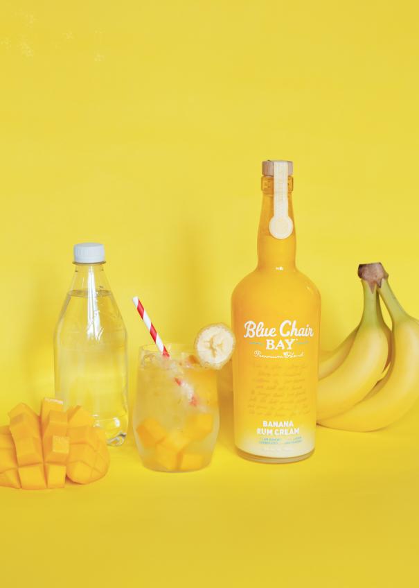 Mango Banana in 2020 Rum cream, Bay rum, Alcoholic drinks