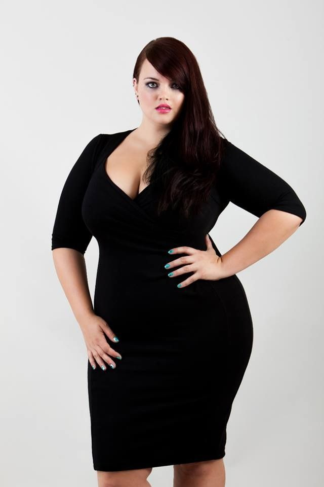 cutethickgirls.com plus size black dress (15) #plussizedresses ...