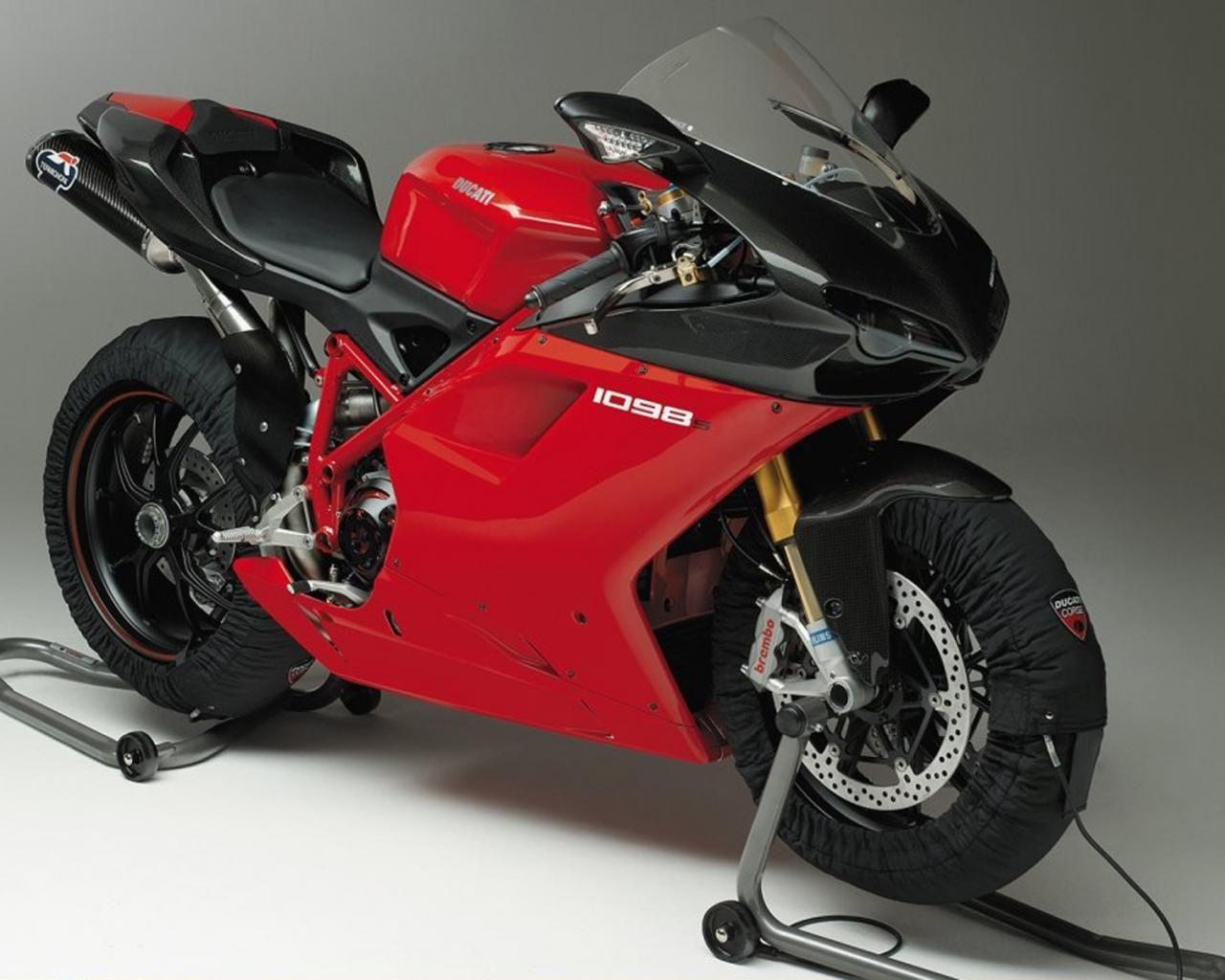 Ducati 1098 S Normal 1280x1024 Ducati Red Bike Bike