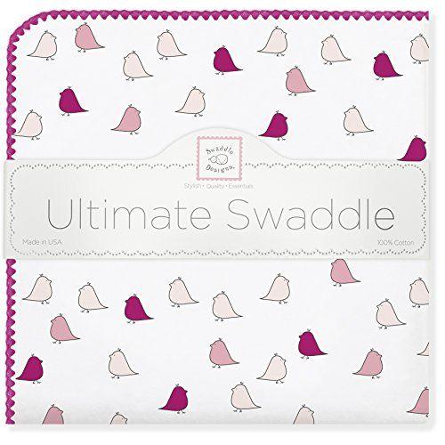 SwaddleDesigns Ultimate Receiving Blanket, Jewel Tone Lit...
