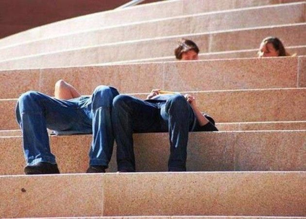 Funny perspectives in photos