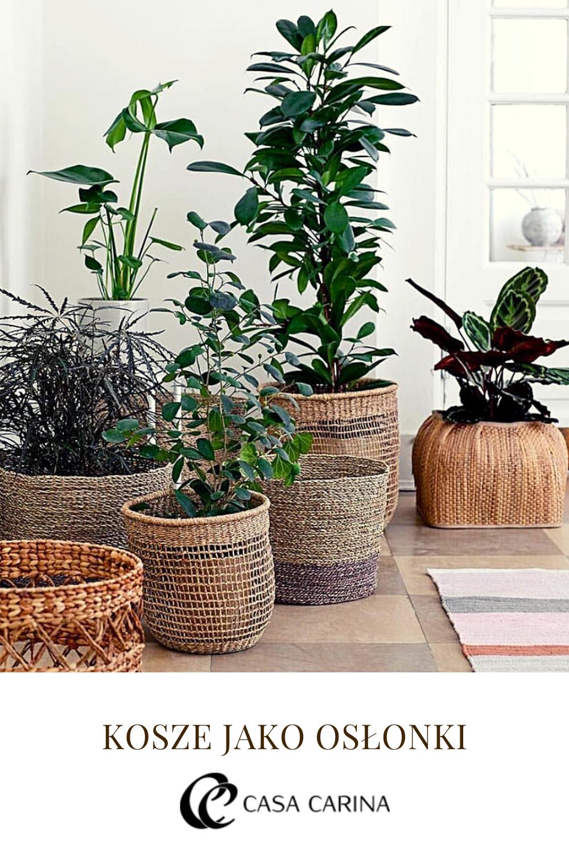 Kosze Jako Oslonki Na Doniczki Dla Kwiatow Plants