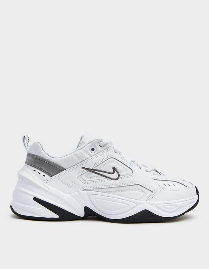 Nike / W M2K Tekno Sneaker in White/White/Cool Grey/Black ...