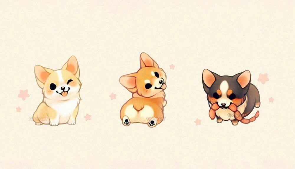 Awwwwwww So Little Cute Dog Drawing Cute Animal Drawings Animal Drawings