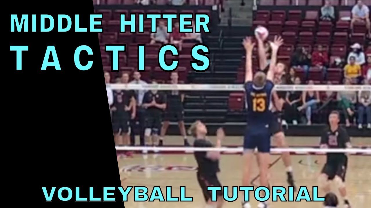Middle Hitter Tactics Volleyball Tutorial How To Spike A Volleyball Volleyball Volleyball Quotes Volleyball Drills