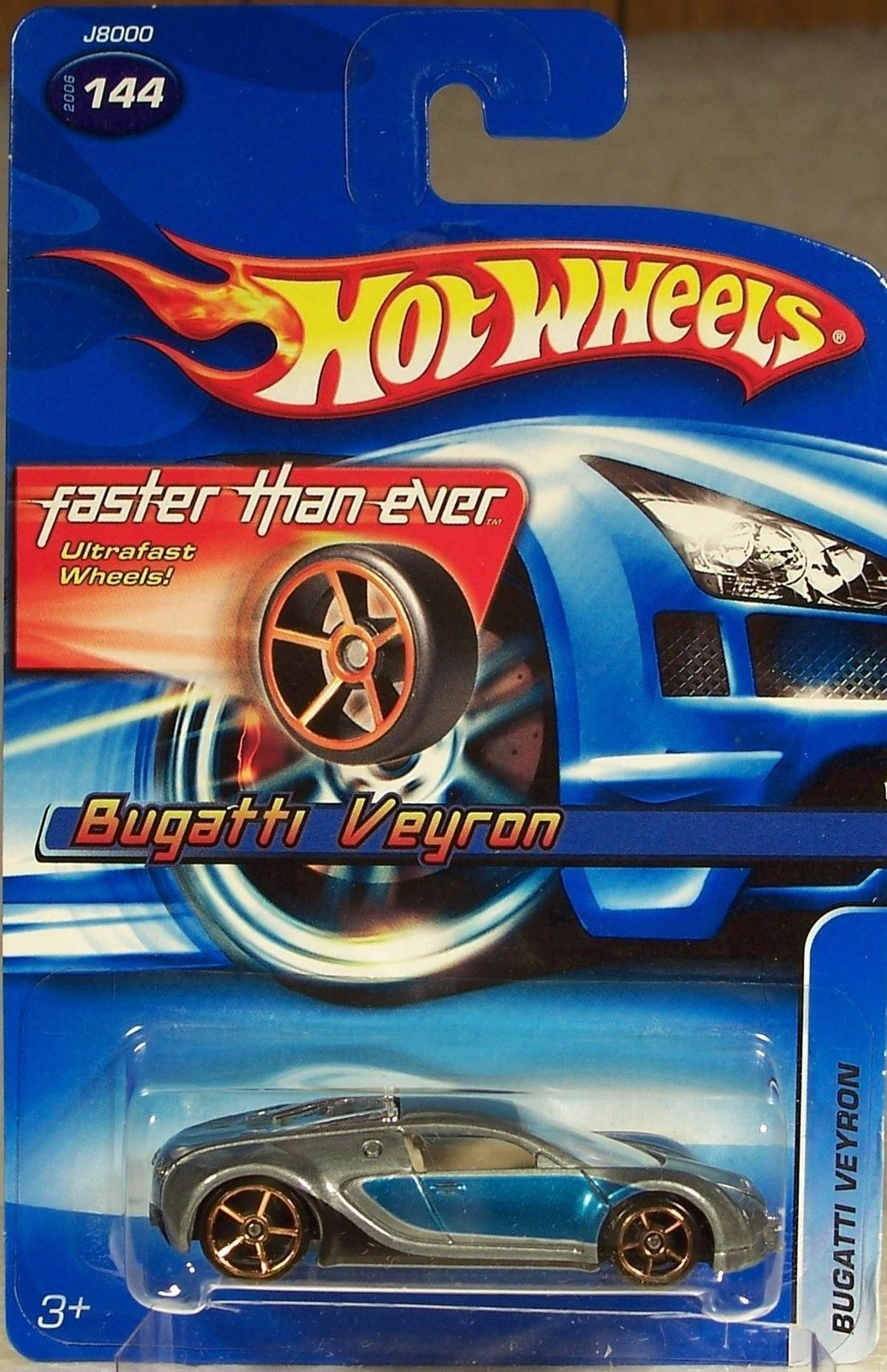 2006 Hot Wheels Faster Than Ever Bugatti Veyron Hot Wheels Hot Wheels Treasure Hunt Veyron