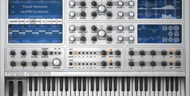 REVIEW: Nemesis VSTi FM Synthesizer by Tone2 | Music