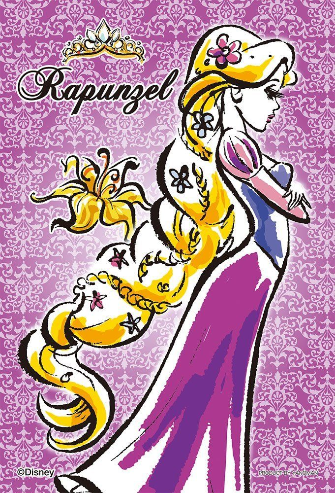 Amazon.co.jp   70ピース ジグソーパズル プリズムアートプチ 塔の上のラプンツェル ラプンツェル-Rapunzel-(10x14.7cm)   おもちゃ 通販