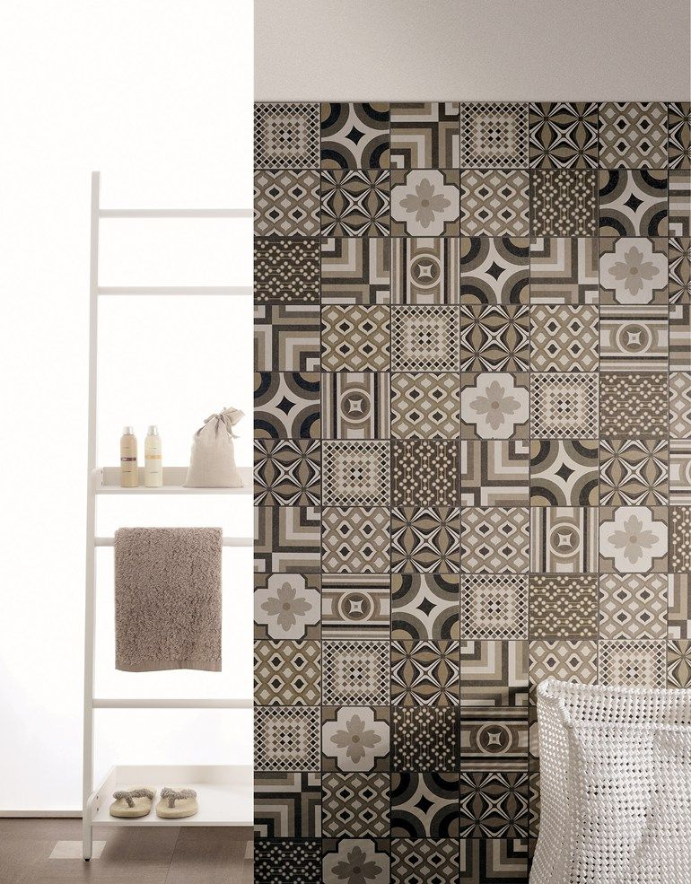 Porcelain stoneware wall tiles inside by ceramica for Azulejos insulares tenerife