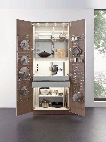 Miniküche im schrank  Smart einrichten: 17 clevere Lösungen für die Mini-Küche   Minis ...