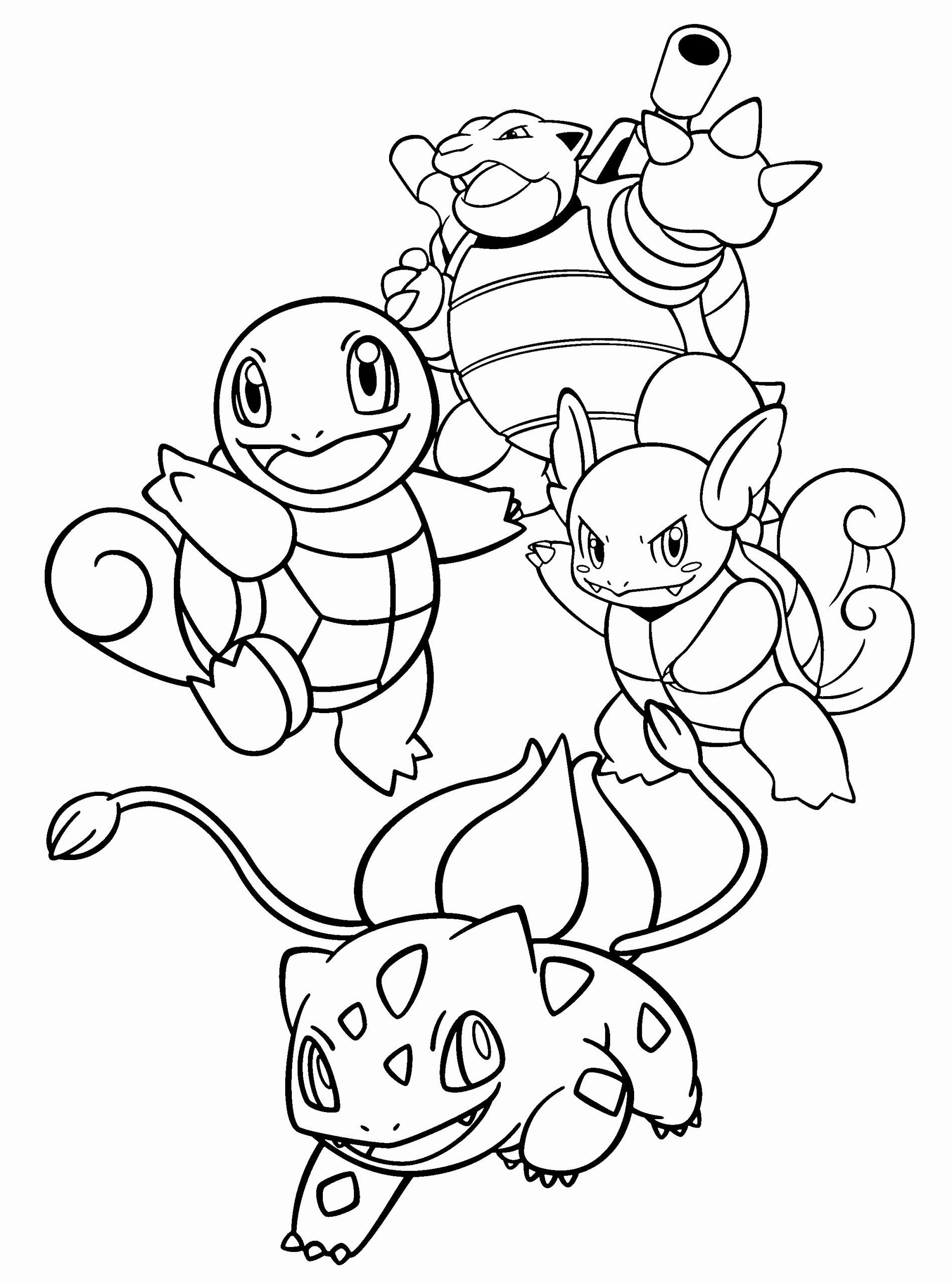 32le Pokemon Coloring Page In