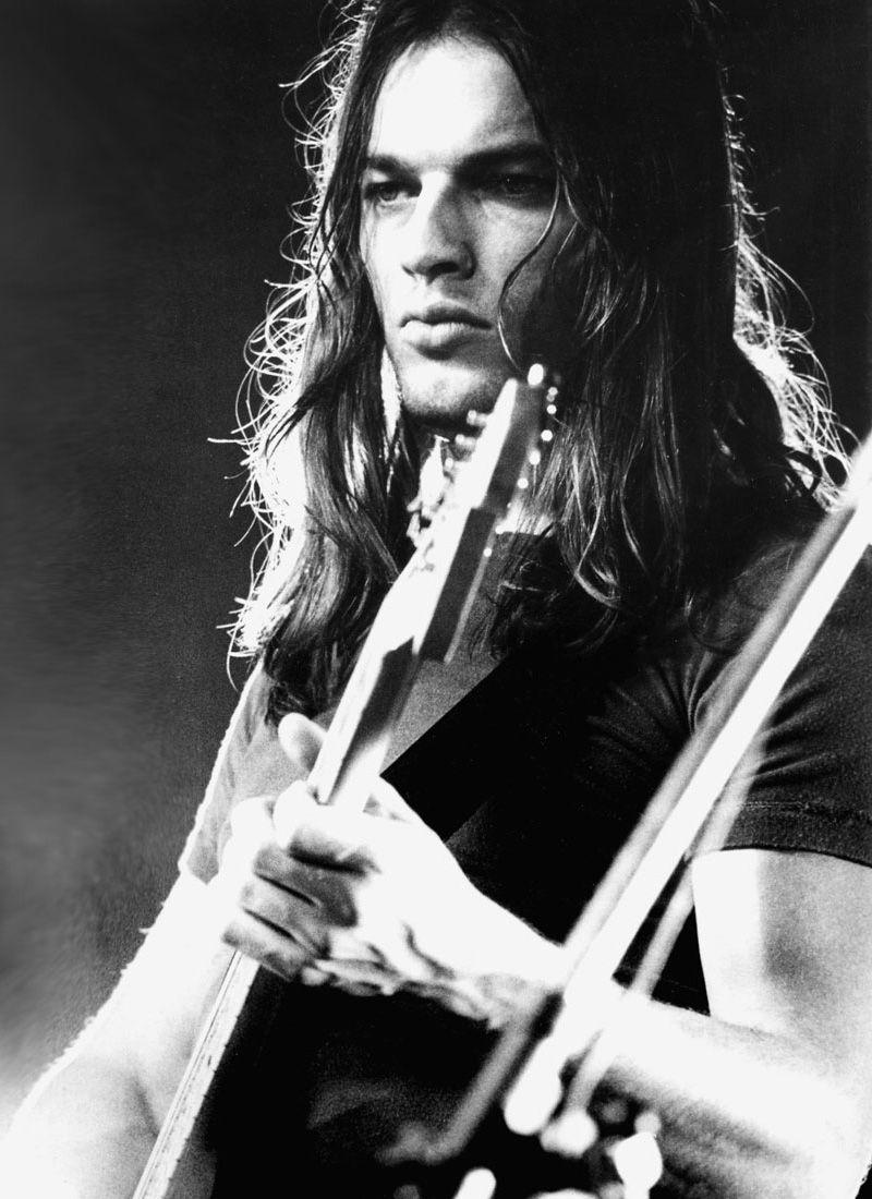 David Gilmour. Sexy, genius, musician
