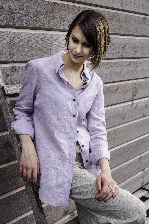 06ac1a660ac8 Linen Shirt Women