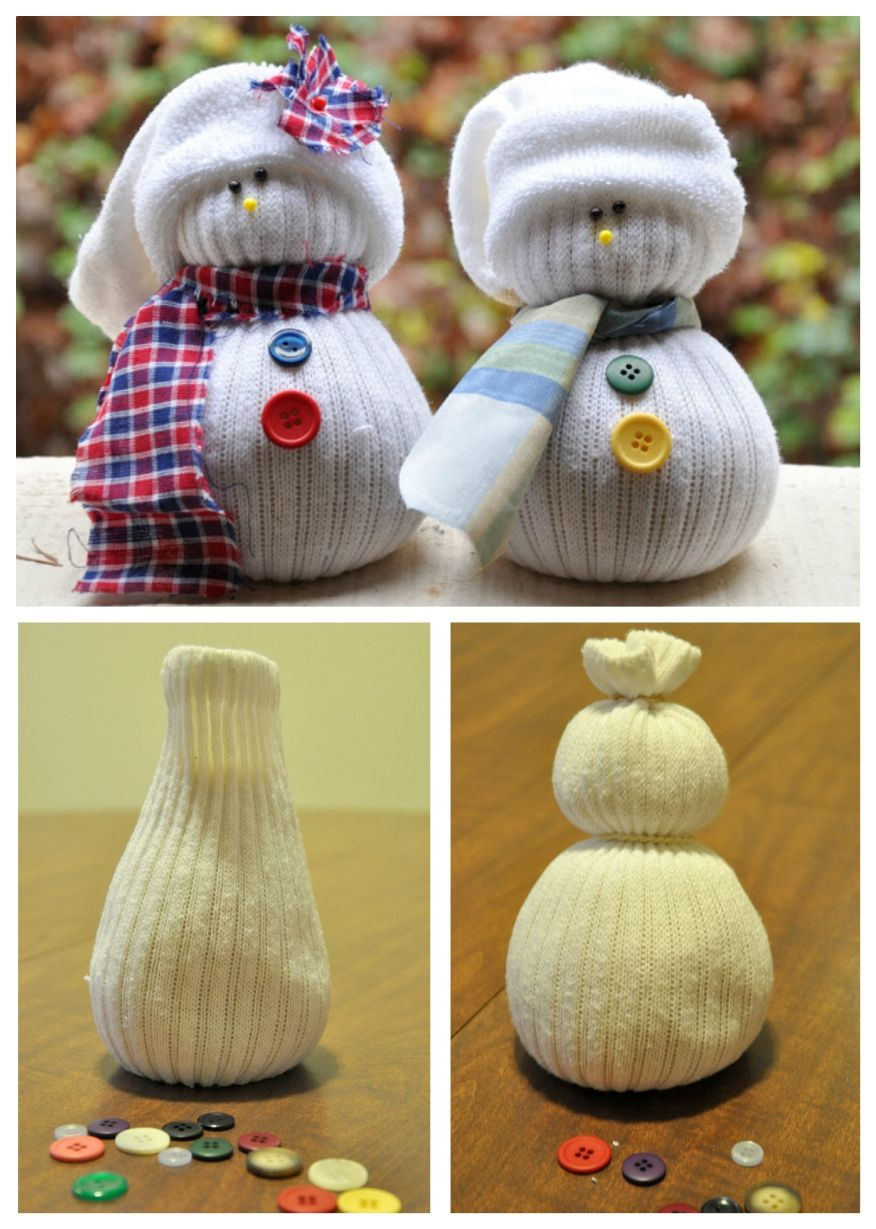 How To Make The Cutest Ever Holiday Sock Snowmen Lavoretti