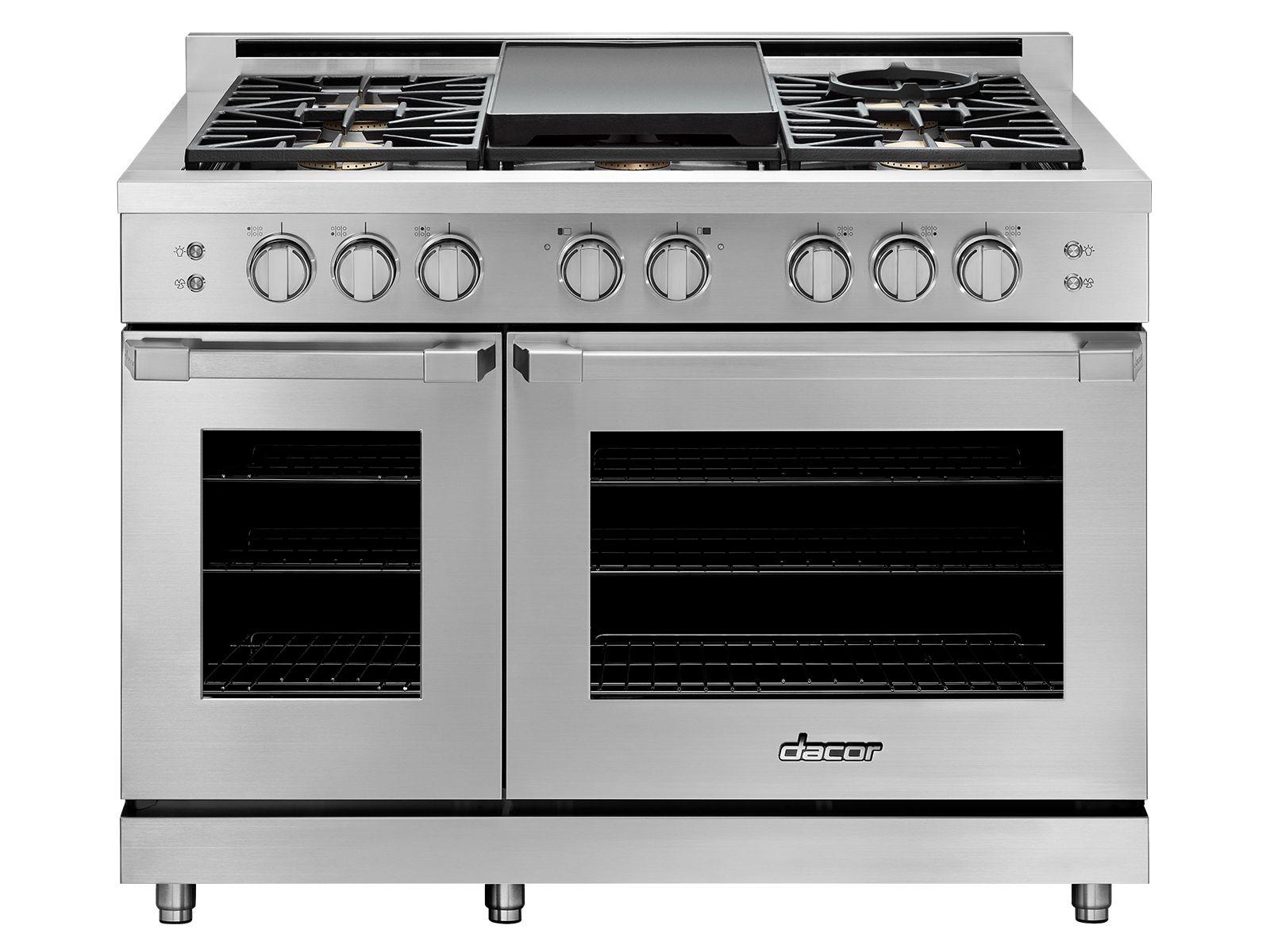 48 inch gas range dacor dual fuel ranges kitchen