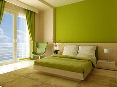 Camere Da Letto Verde Acido : Verde acido in camera da letto un senso di freschezza viene subito