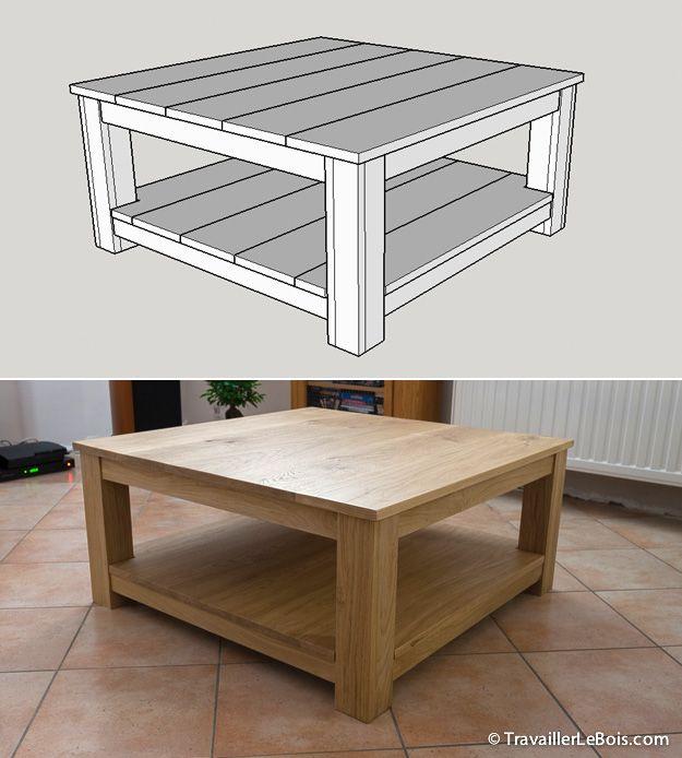 meuble en bois table