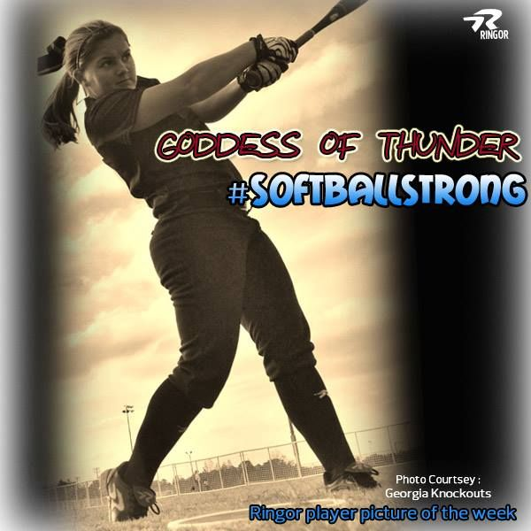 softball - #Softballstrong Ringor player pic!
