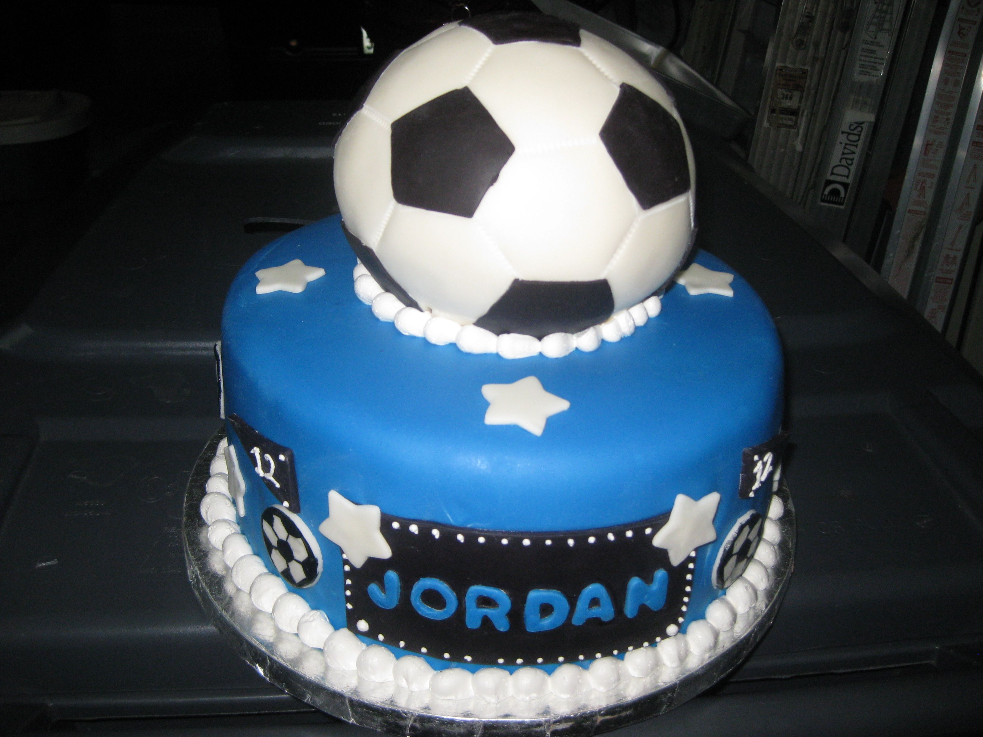Soccer Design Cake Soccer Cake La Galaxy David Beckham Birthday