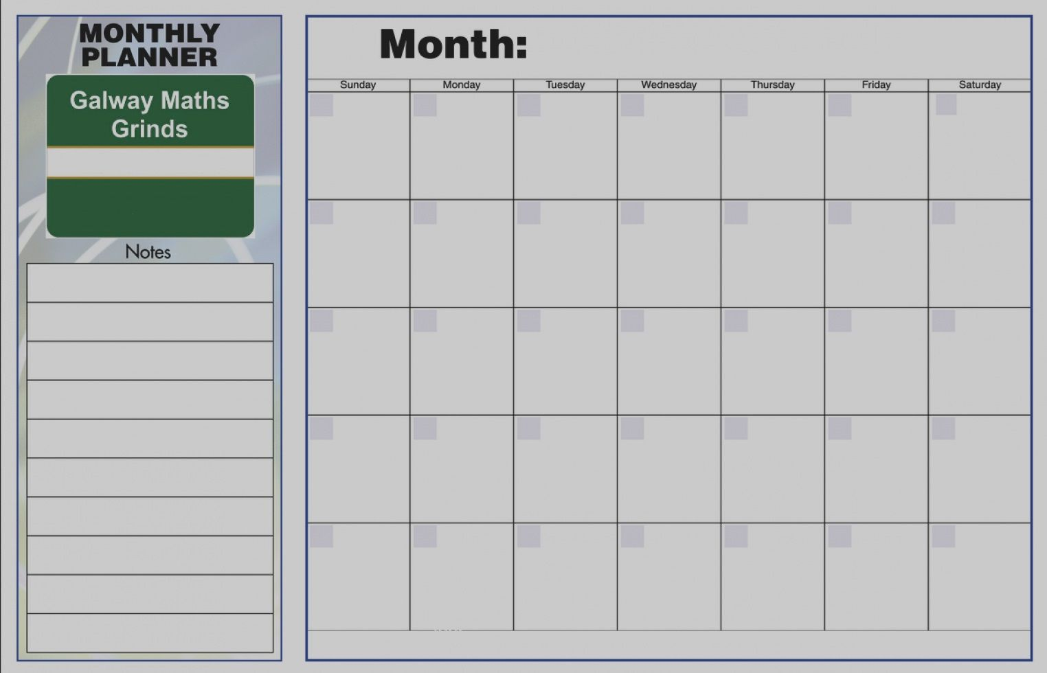 Monthly Planner Template Weekly Planner Template Timetable Template