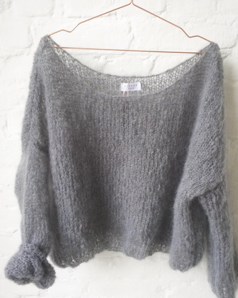 Soft mohair pullover | Progetti da provare donna | Pinterest ...