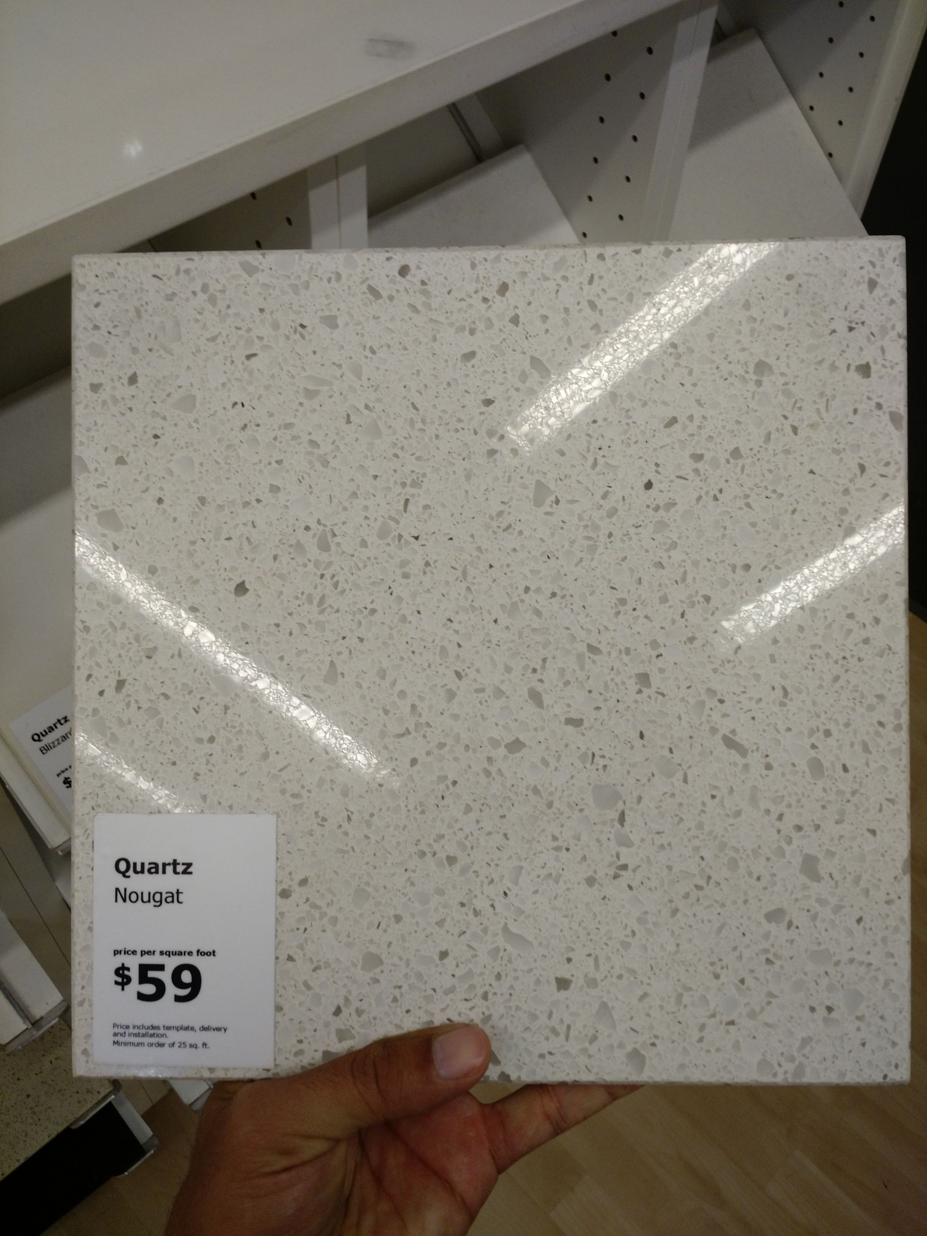 Mobile Home Kitchen Remodel Countertops Cost Per Square Foot Ikea Quartz Countertop   Pinterest ...