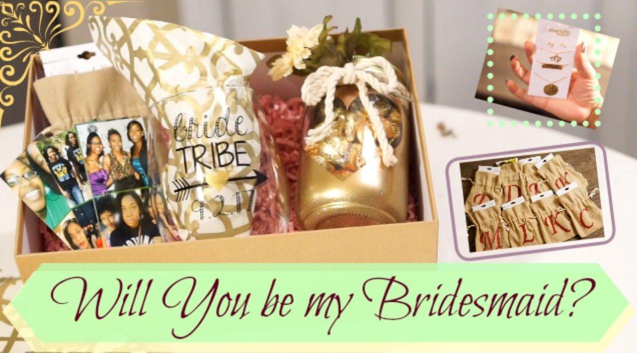 DIY Bridesmaid boxes| Becoming a Bride