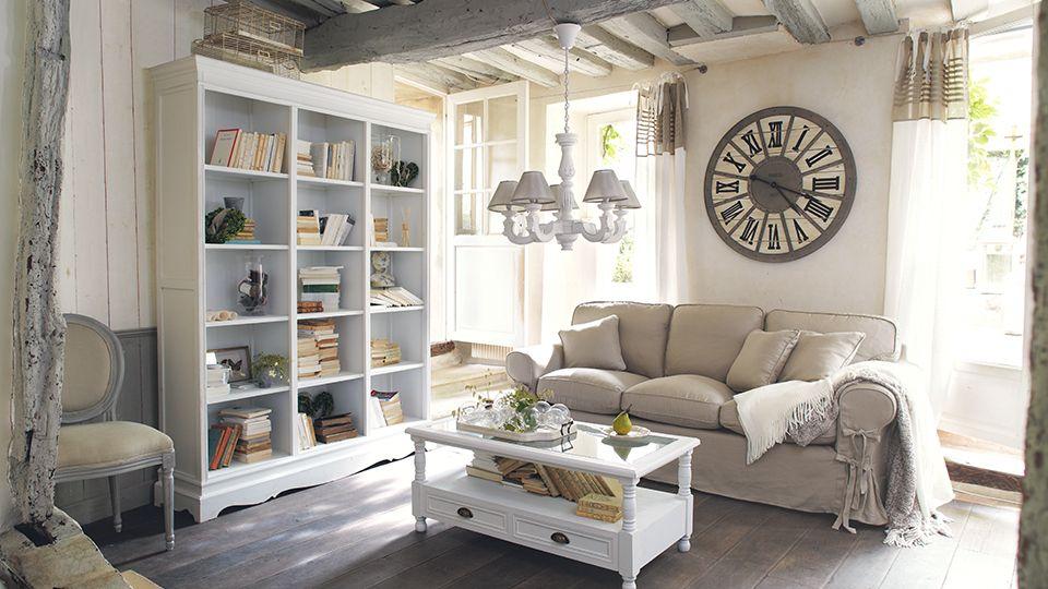 Un salon ambiance maison de famille d co maison de - Deco salon chambre ...