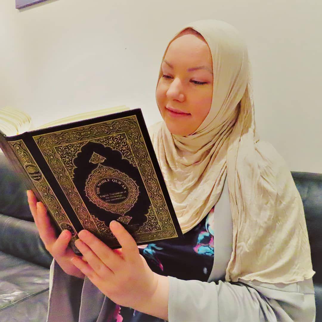 Anna B Reading Quran
