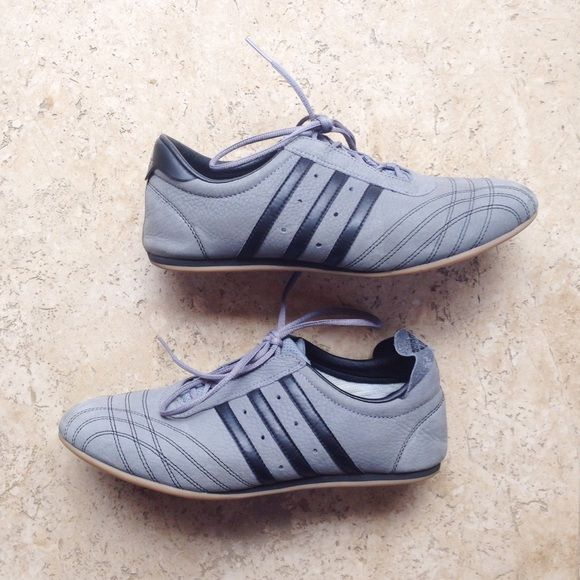 Never Worn Grey/Bkack Adidas Lace-Up Sneakers. Adidas SneakersShoes Sneakers Early ...
