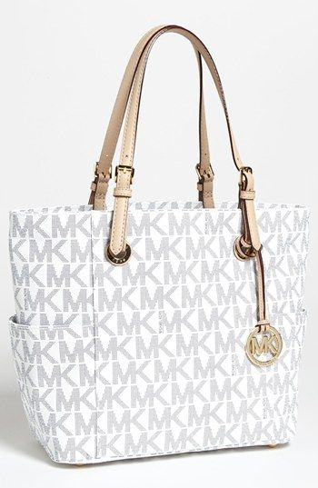 85390d88f Bolsas De Mão Mk · MICHAEL Michael Kors Signature Tote, Medium available at  #Nordstrom Bolsas Luxo, Bolsa De