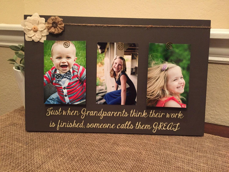 Great grandparent gift Grandma frame mom mothers day mommy ...