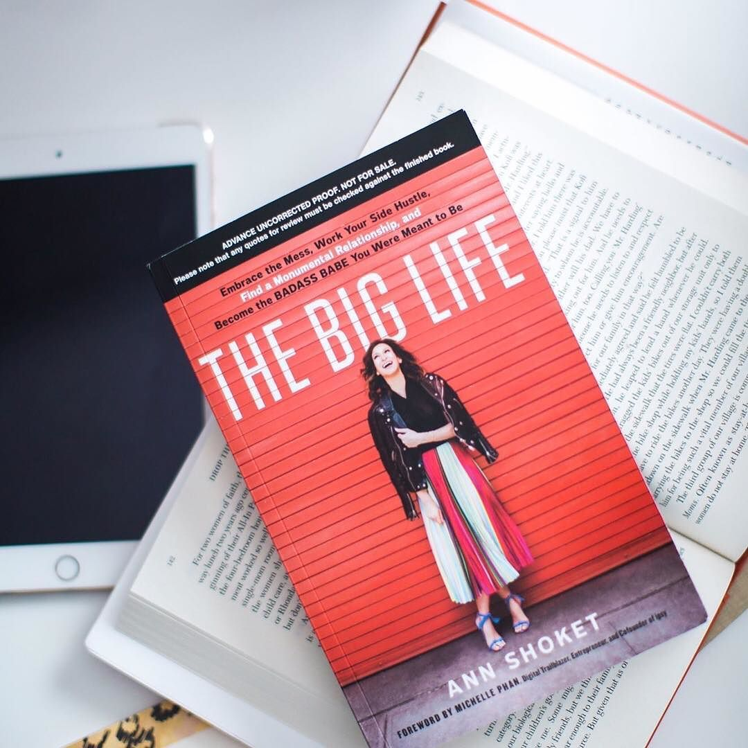 Ready to live #TheBigLife? We're proud to support @annshoket's brand new book! So much #levolove for all of our community already diving in to these words of wisdom.  We have so much to learn from you Ann. #LevoReads @tinawells_ @otherwisehope @tdufu