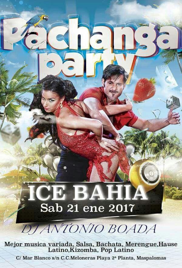 SABADO 21-01-2017 SEGUIMOS CON LAS NOCHES TEMÁTICAS EN ICE BAHIA C.C.MELONERAS. BUENA MUSICA  BUEN TRATO  BUEN EQUIPO  DE 22:30 A 04:00