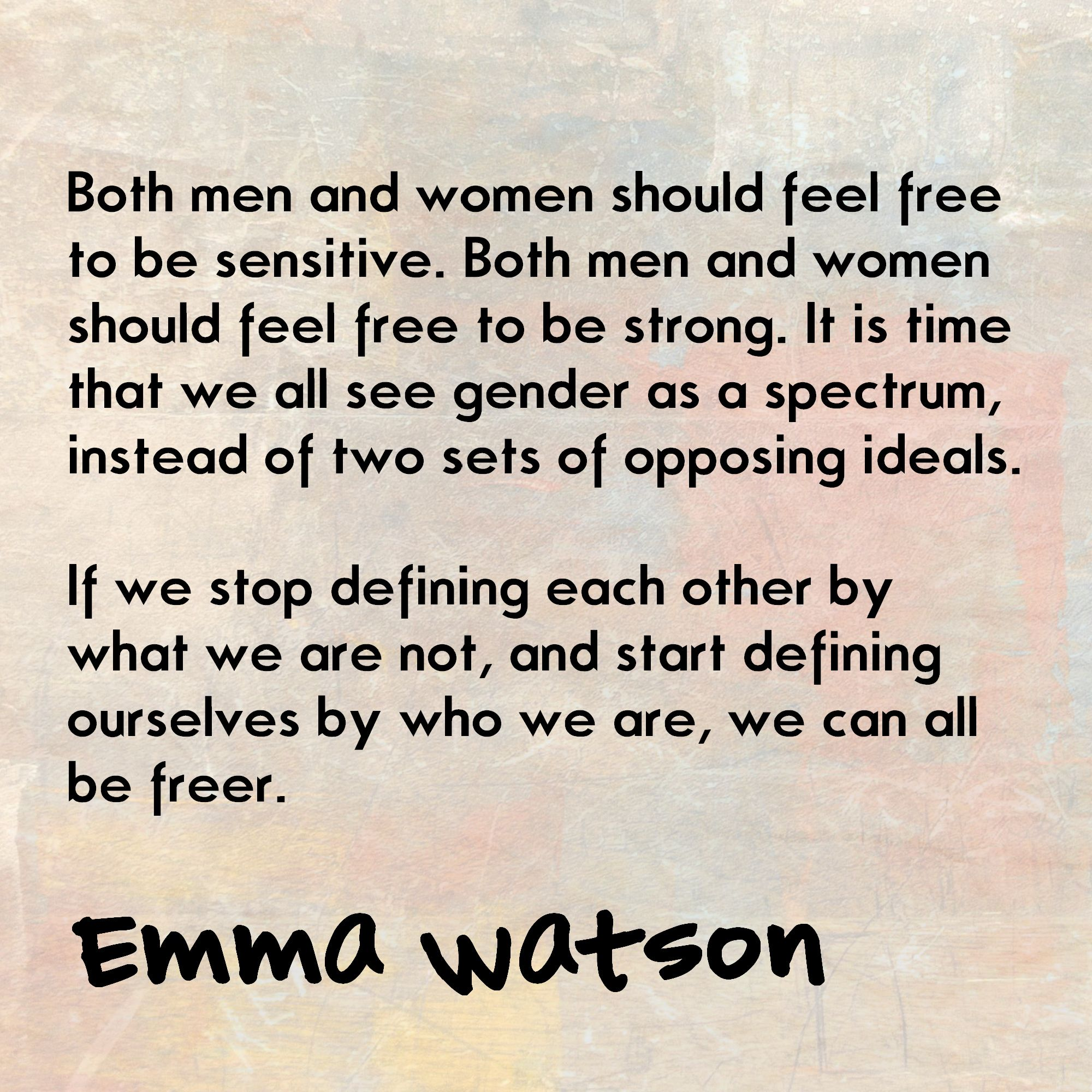 Gender Equality Quotes Quote Of The Day  Emma Watson