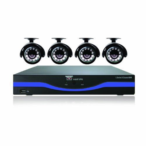 Night Owl Security L854511 8Channel 960H DVR with 500GB