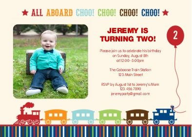 Birthday Party Invitations Invites